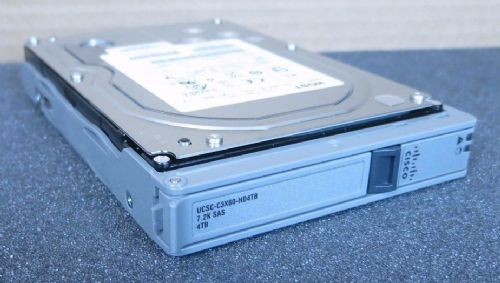 "Cisco UCSC-C3X60-HD4TB 4TB SAS 7.2K Enterprise Hard Drive HDD 3.5"" w/C3X60 Caddy"